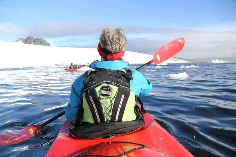 Antarctic Kayaking - bucket list holidays