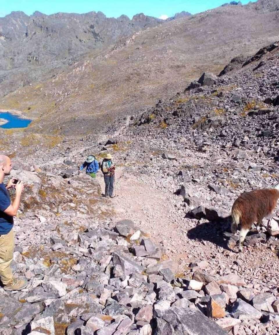 High in Peru