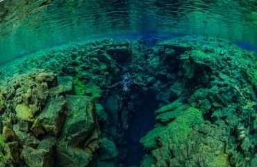 Free diving Silfra