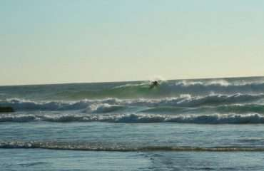 Kitesurfing The Waves