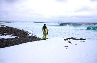 Surfing Iceland