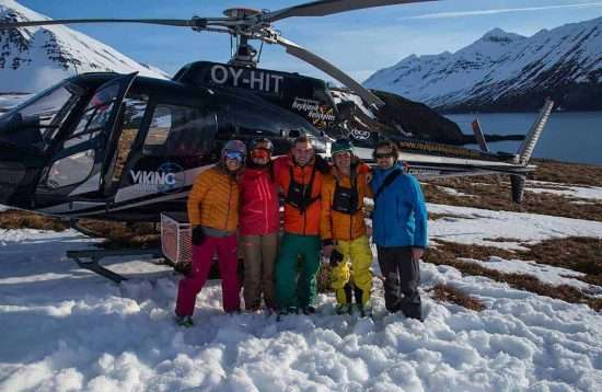 2 Days Heli Skiing Adventure, Snow, Iceland