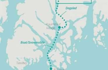 Ski Tour Map