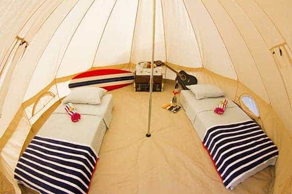 Moliets Surf Camp Tent
