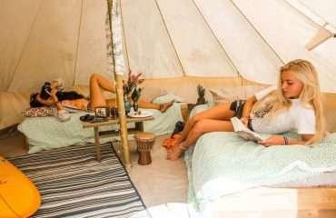 Moilets Surf Camp Tents