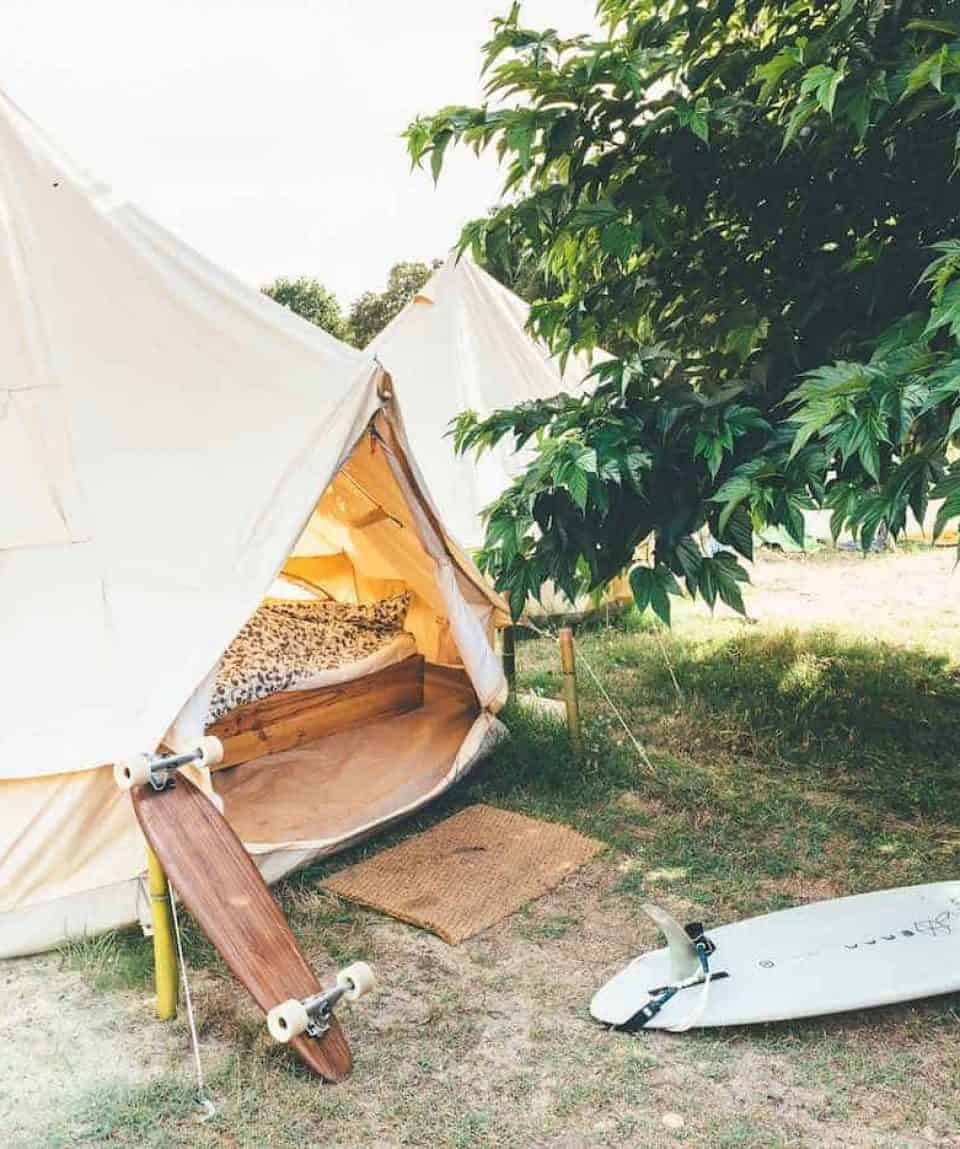 Surf Camp Tent