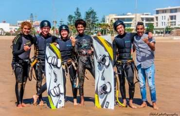Small Kitesurf Groups