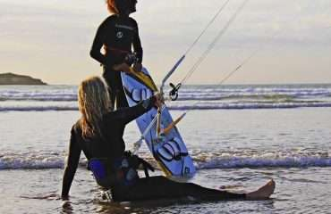 Starting to Kitesurf