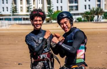 Your Kitesurf Instructor (left)