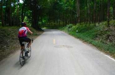 Cycling to Phuket