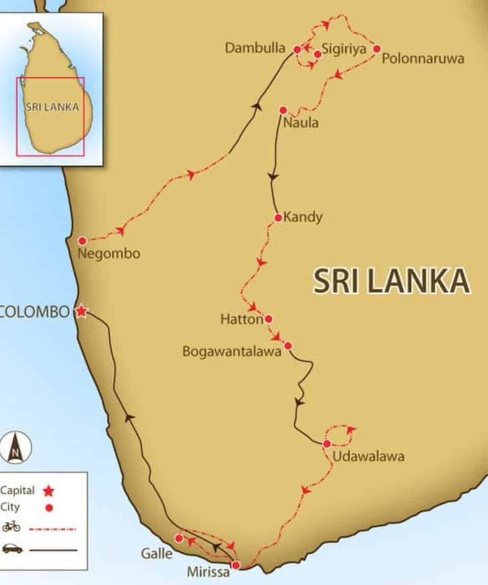 Sri Lanka Bike Tour