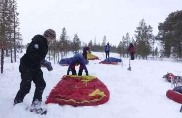 Arctic Campsite