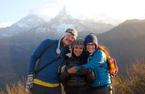 Hike to Annapurna Base Camp