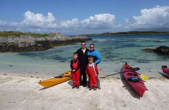 Family Sea Kayaking Adventure Holiday