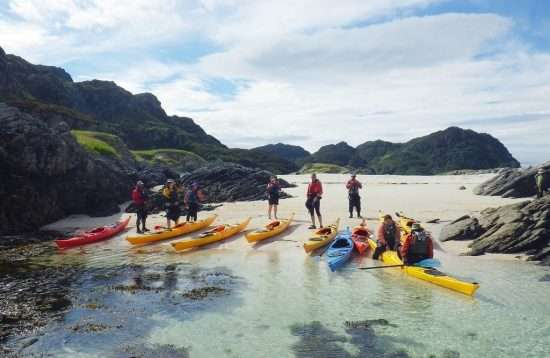 Family Sea Kayaking Course