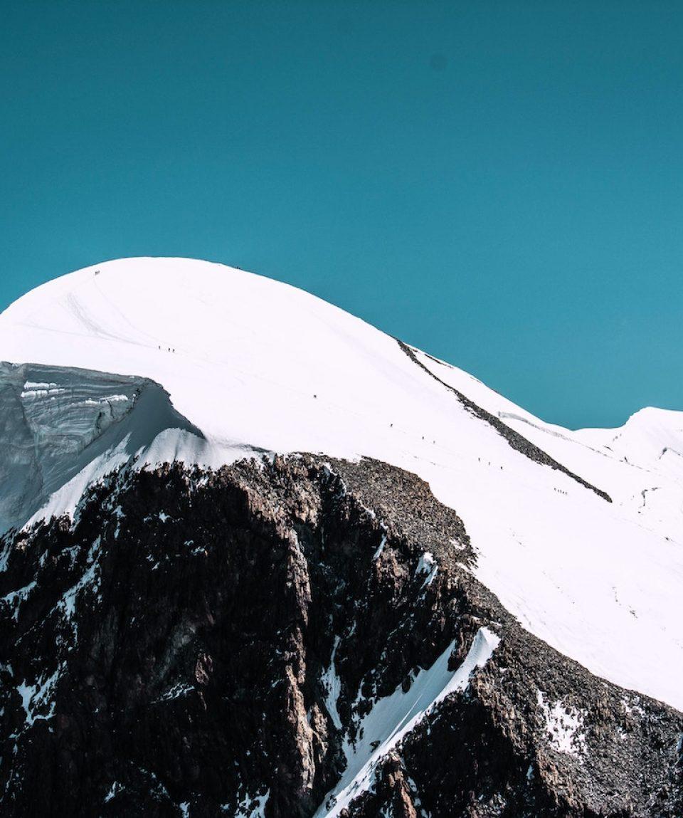 Breithorn from Klein Matterhorn