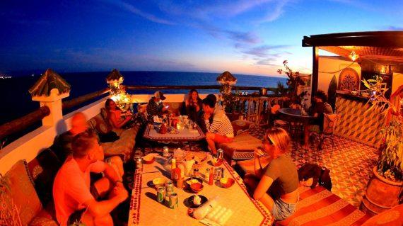 Roof Terrace Dinner