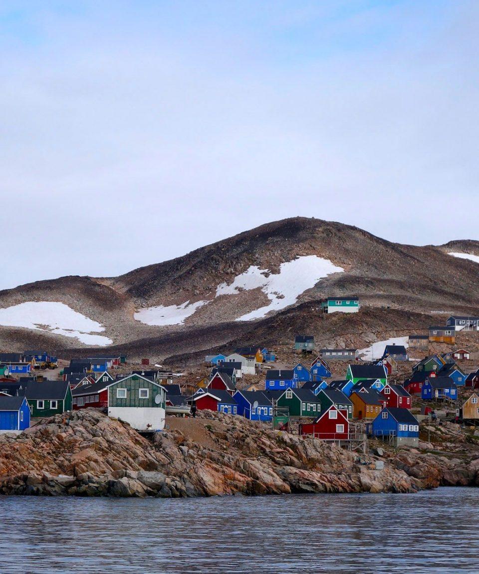 Local Greenland Village