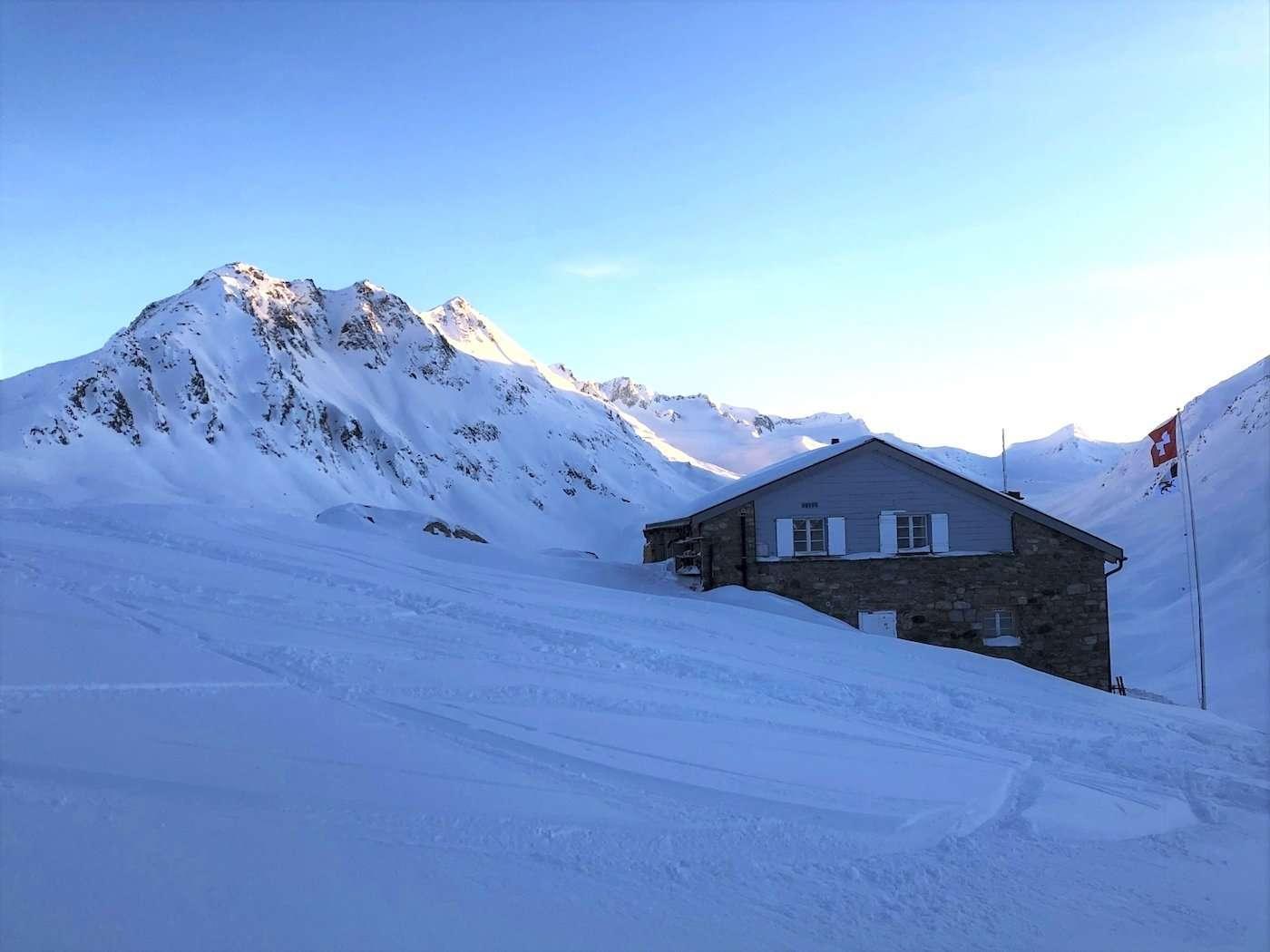 Maighelshütte SAC 2310 m