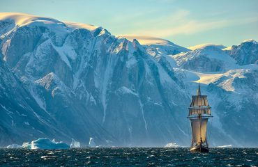 Sailing Full-Sails in Greenland