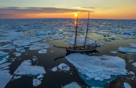 Sailing Through Ice