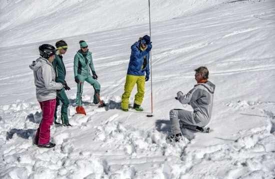 Andermatt Avalanche Training