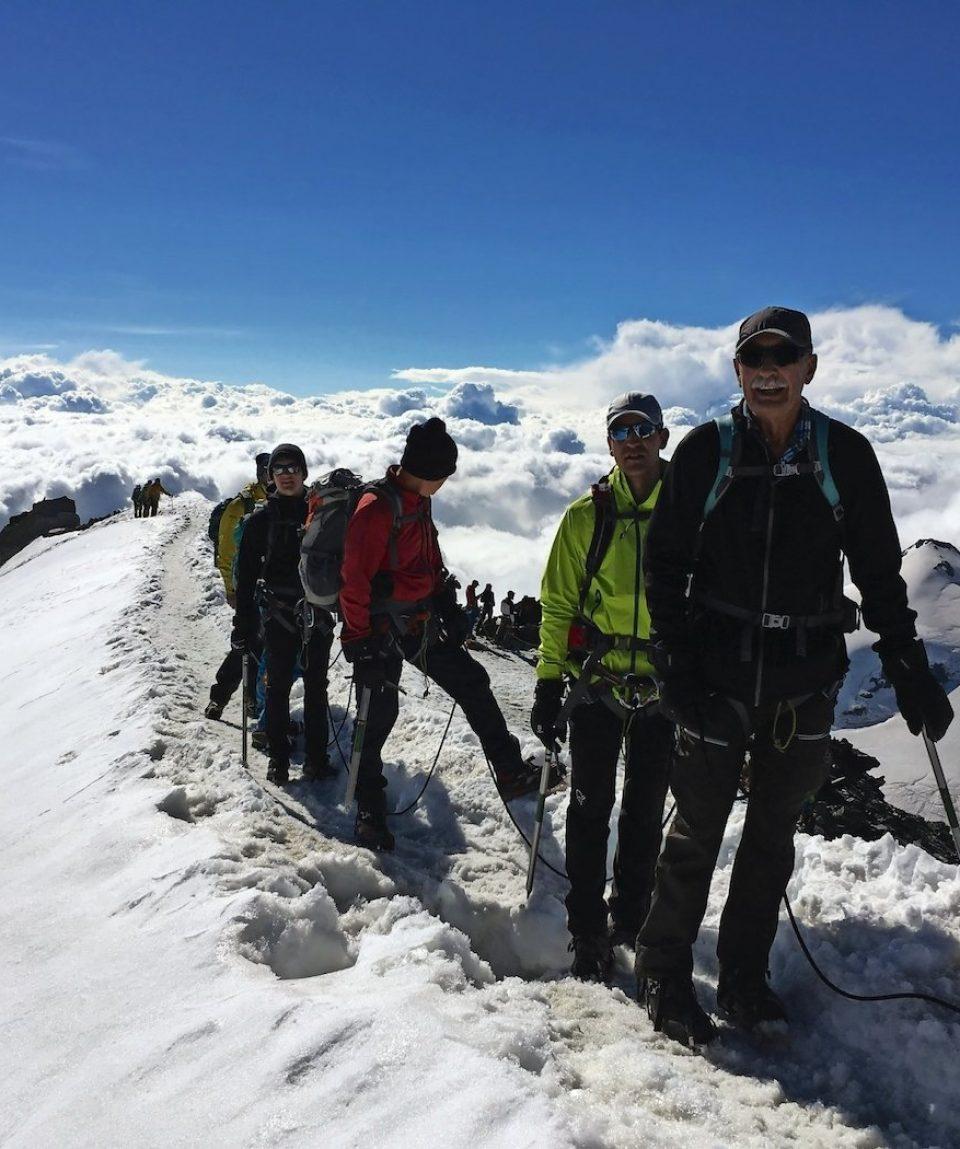 Summit Allalinhorn